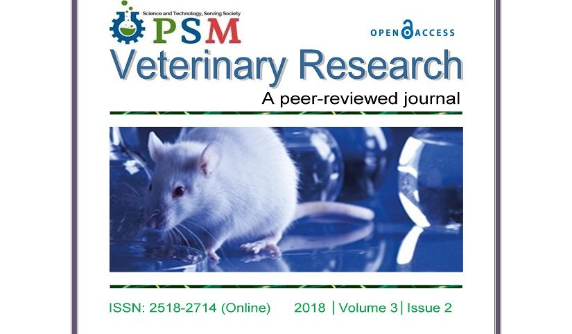 Veterinary Research: December 2018 Issue Published Online
