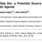 Silene inflata as therapeutic agents